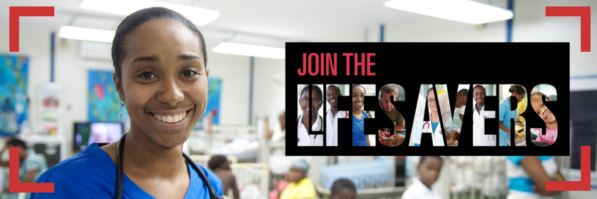 Join the LifeSavers im Kinderkrankenhaus St. Damien in Haiti.